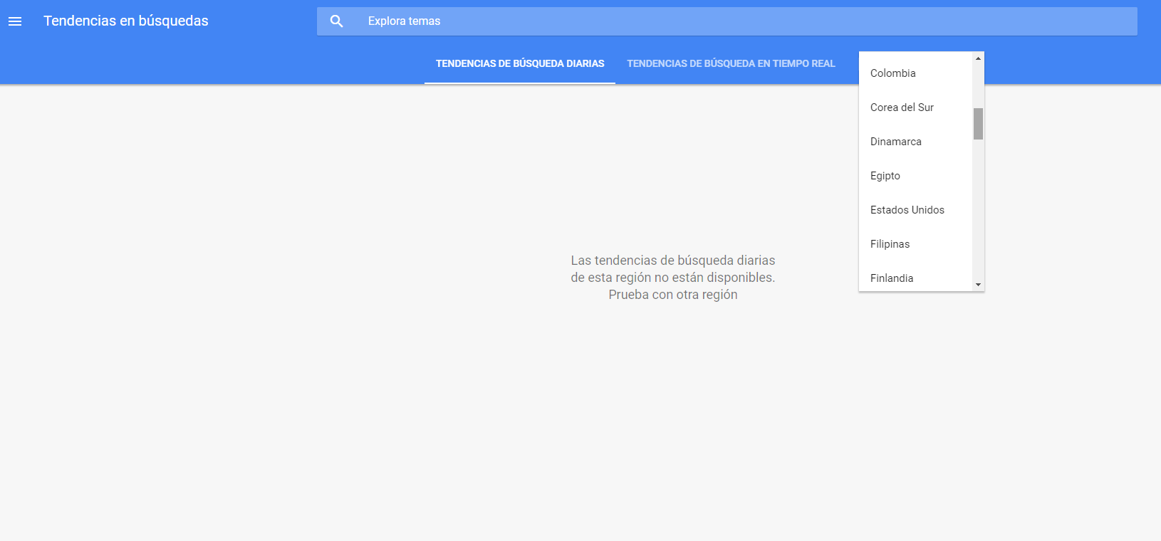google trends españa - roiting