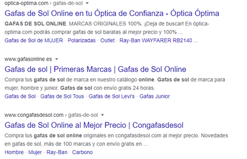Auditoria Web de un Ecommerce - Indexación Google